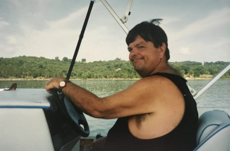 My dad loved going boating on Table Rock Lake in the Ozarks.
