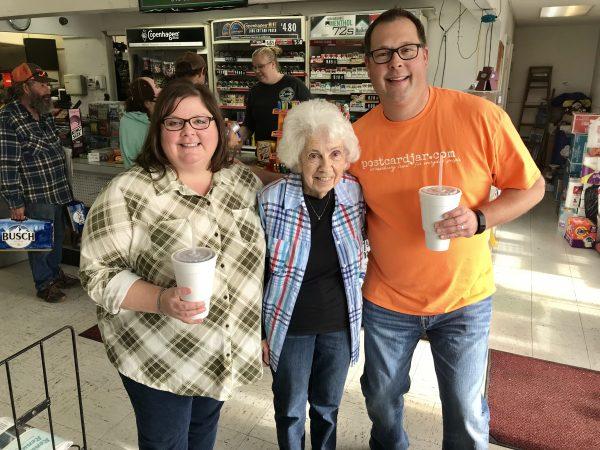 Martha at Handy's, Pawhuska, Oklahoma