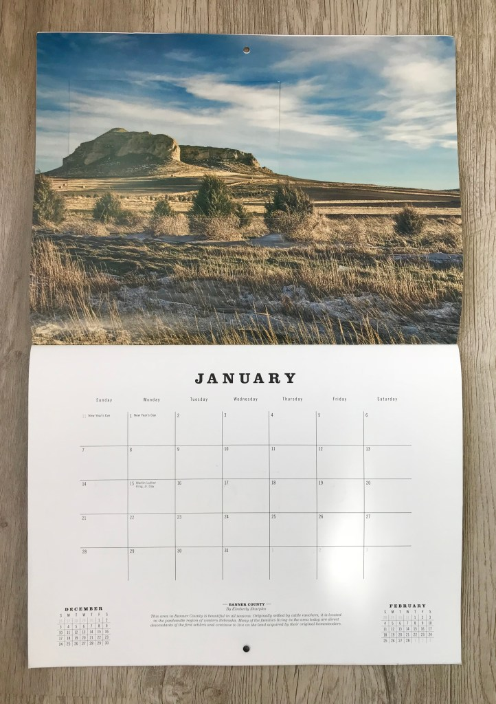Nebraska Tourism calendar