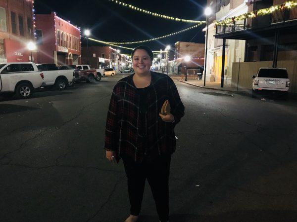 Kihekah Ave. at Christmas, Pawhuska, Oklahoma