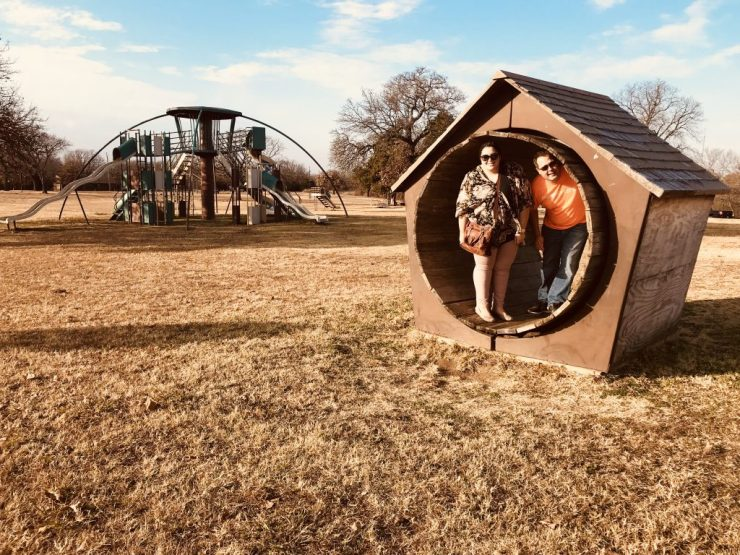 Williams Park, barrel house, Pawhuska, Oklahoma