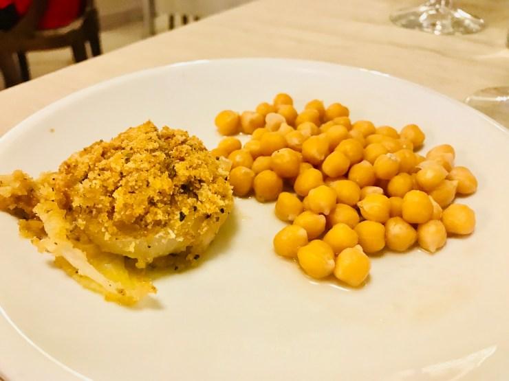 Appetizer at Villa Ambra, Montepulciano