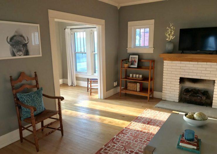 Pawhuska house living room