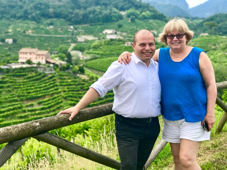 We can't imagine visiting the Prosecco region without the expertise of Massi the Driver and his wife, Deb, of Italy Unfiltered.