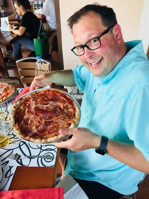 Pizza in Prosecco Region