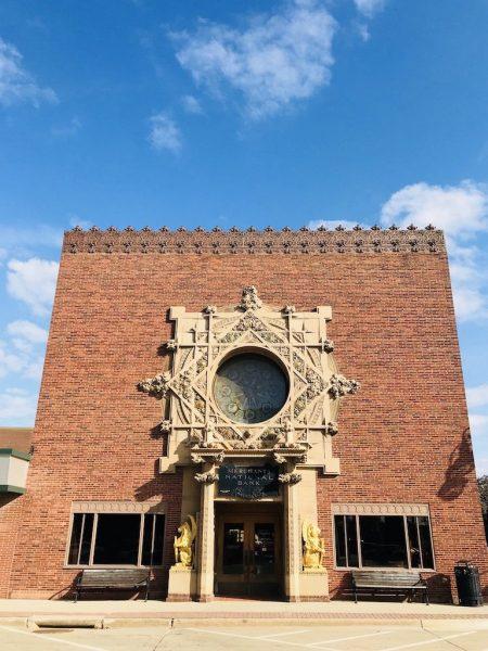 Grinnell Iowa Louis Sullivan jewel box bank exterior