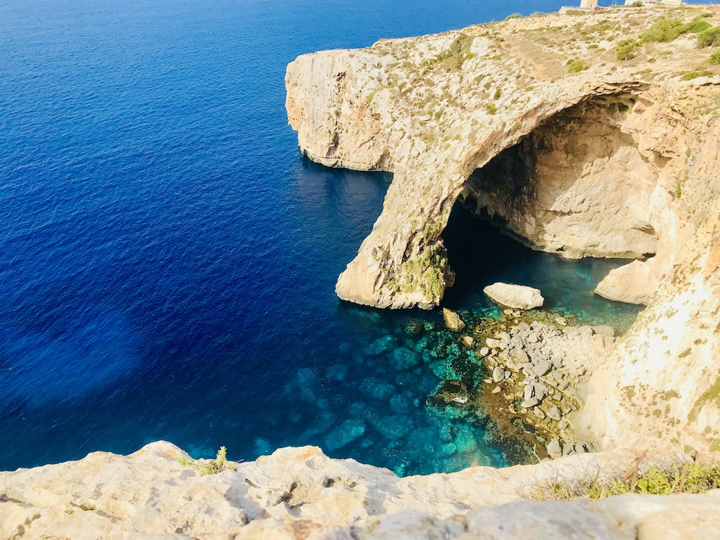 visiting blue grotto