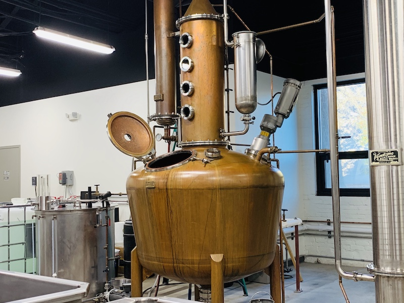 Rock Town distillery still
