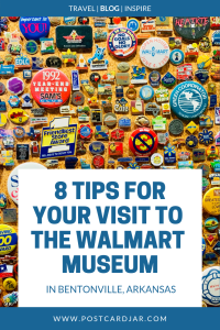 8 tips for your visit to The Walmart Museum