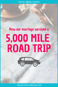 surviving a road trip with your spouse