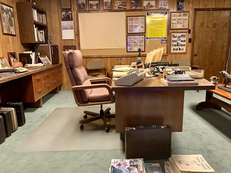 Sam Walton's office