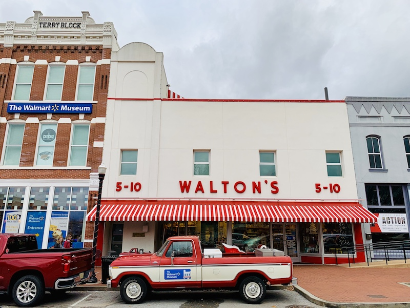 Walmart Museum on Main Street