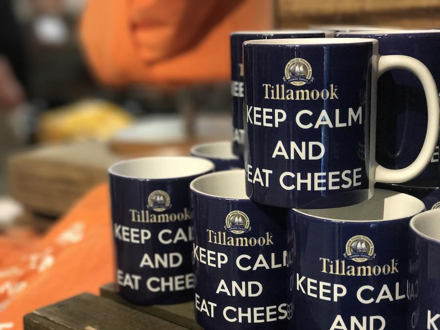 Tillamook Creamery souvenir cups