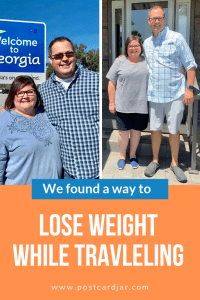 losing weight while traveling post