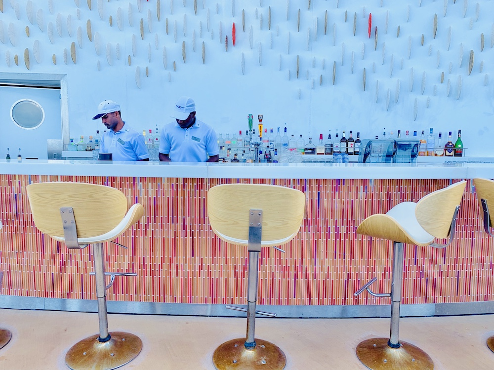Bars on the Celebrity Edge Sunset Bar