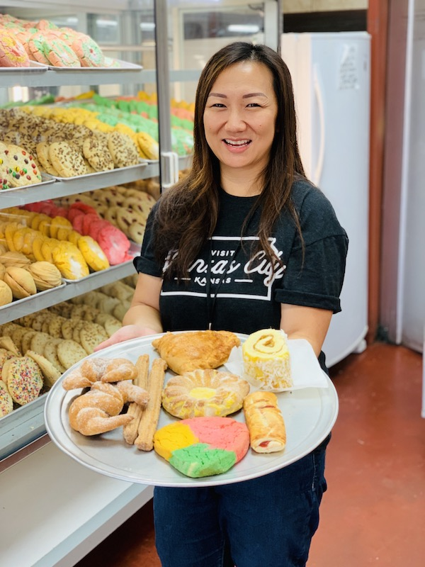 Bonito Michoacan Bakery treats, Kansas City, Kansas