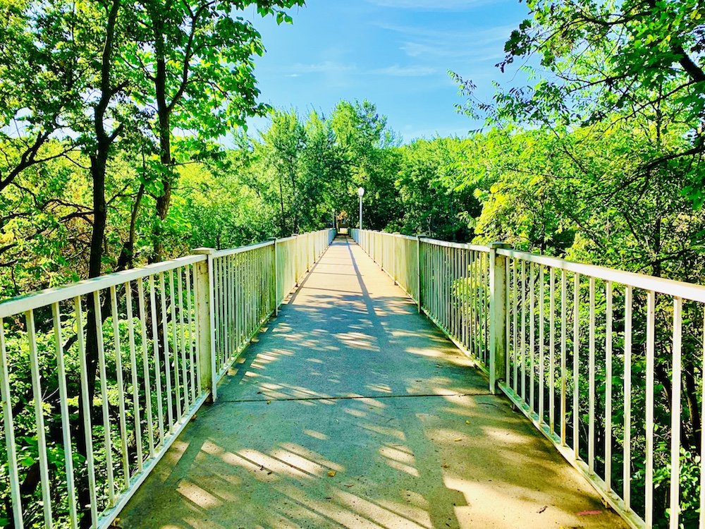 the music man footbridge