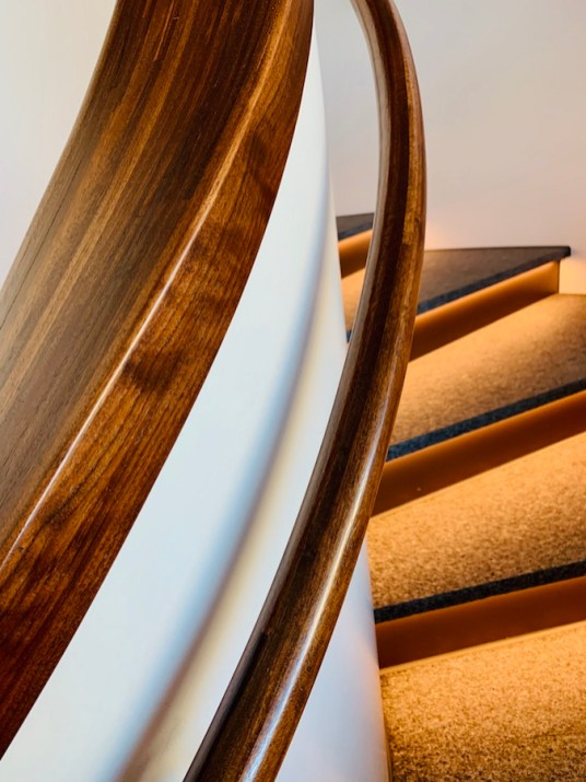 Staircase at Hilton Rochester Mayo Clinic