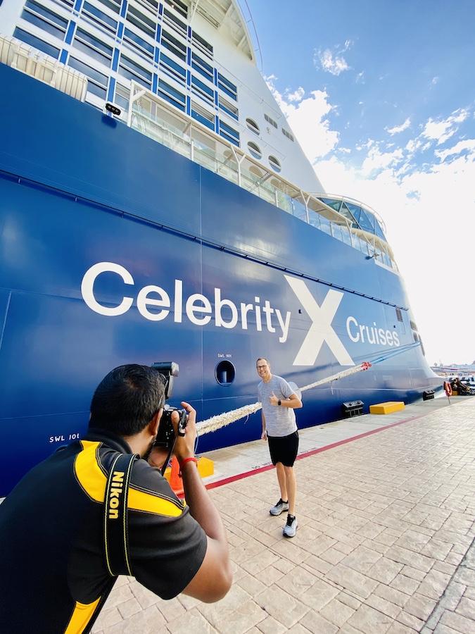 Cruise ship etiquette photographers