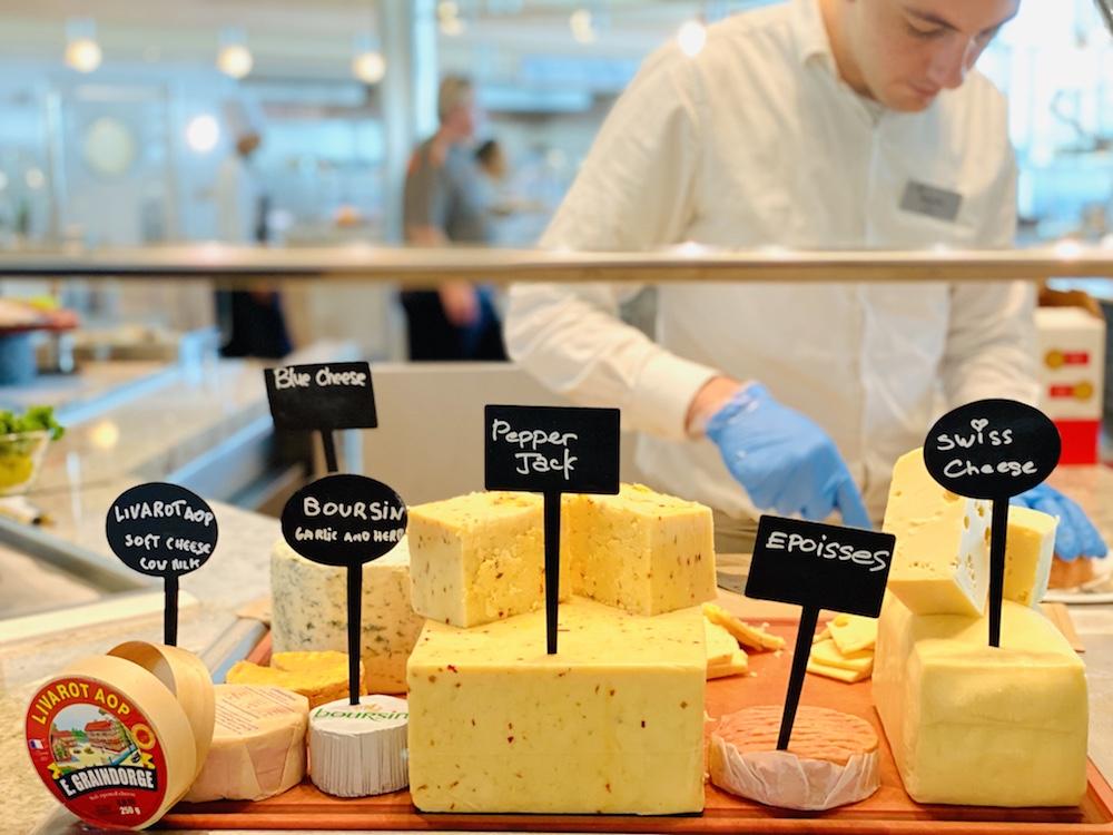cheese on celebrity edge