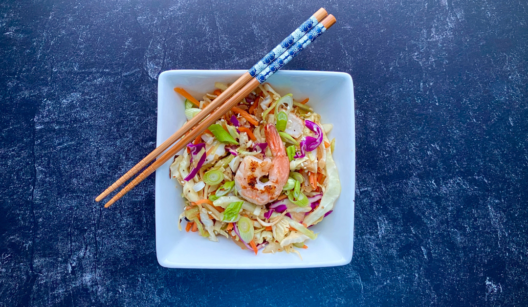 The best low-calorie egg roll in a bowl recipe