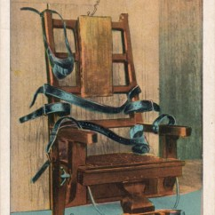 Sing Electric Chair Tot Tutors Table And Chairs Prison Ny Postcard Memory Palace