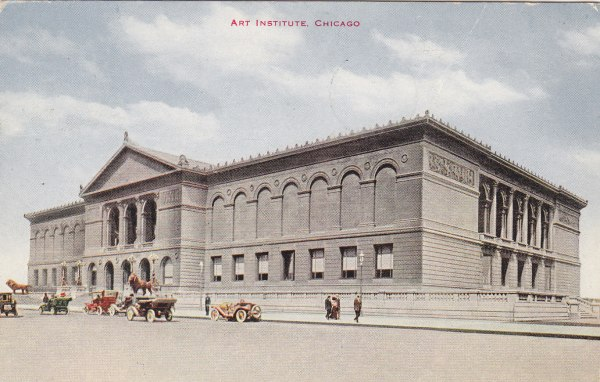 Art Institute Of Chicago Moore' Postcard Museum