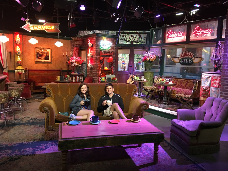 Friends Coffee Shop Central Perk Warner Bros Studio