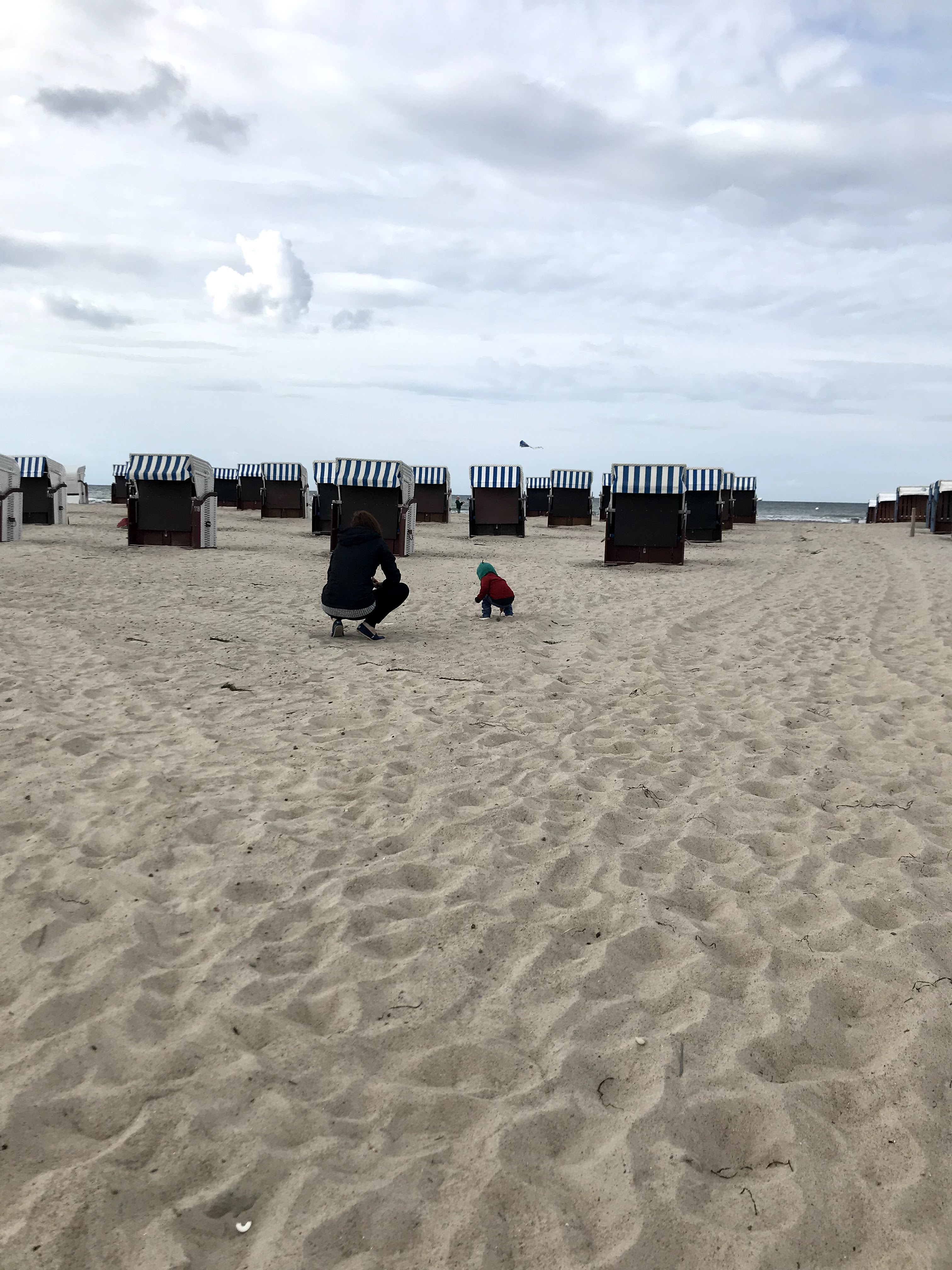 Exploring the Warnemünde Area with a Toddler