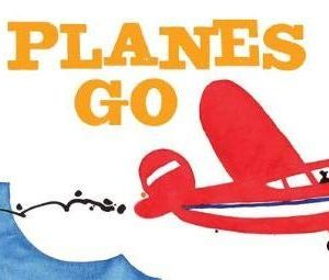 Best Travel Gifts Childrens Board Book Planes Go