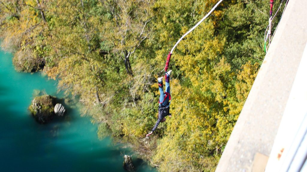 Things to do before kids - Bungee Jumping