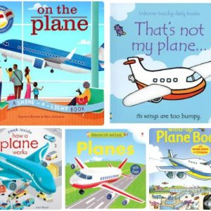Books about Planes Best Travel Gifts Kids