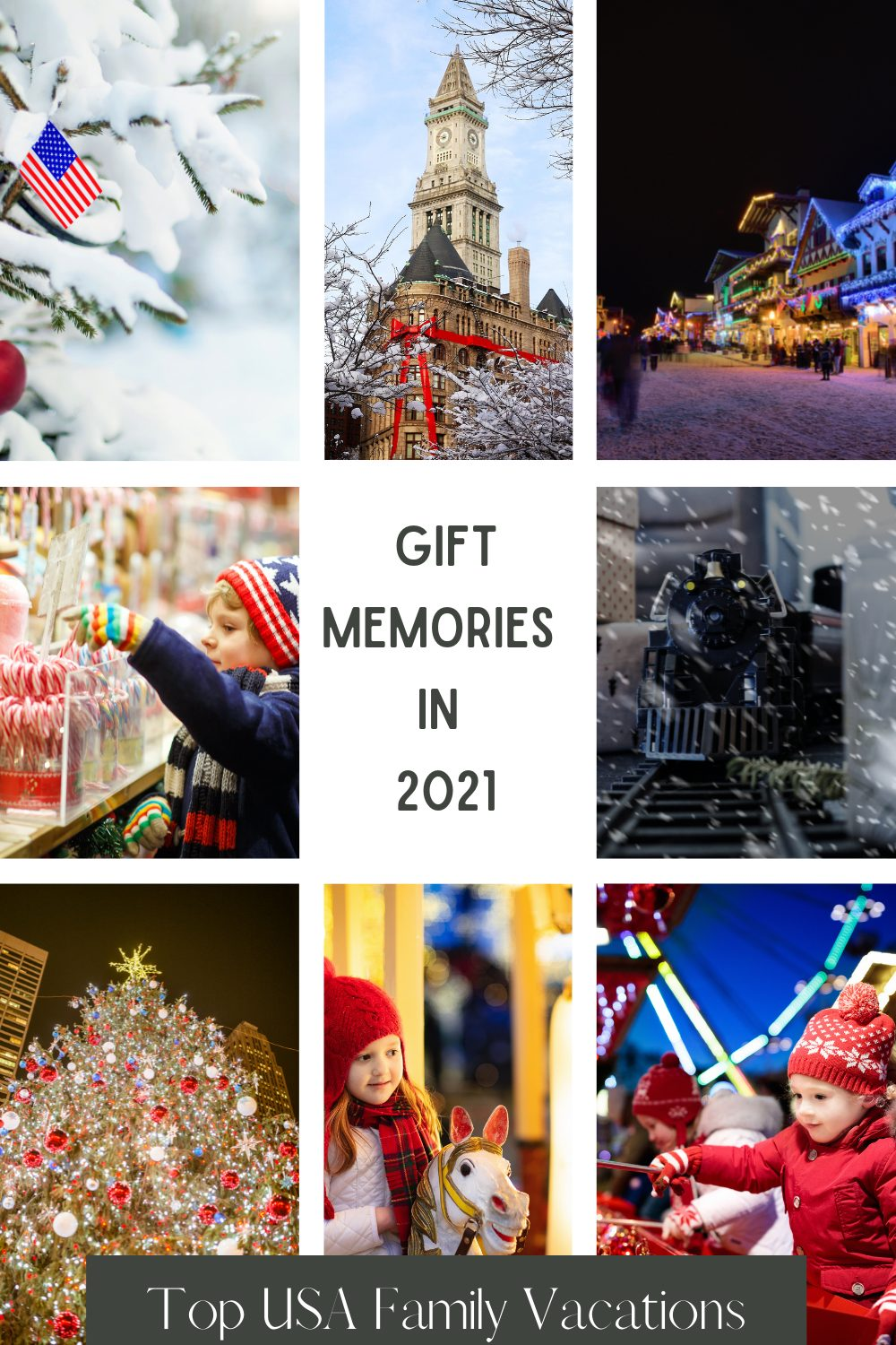 US Christmas Destinations for Families Pin 2