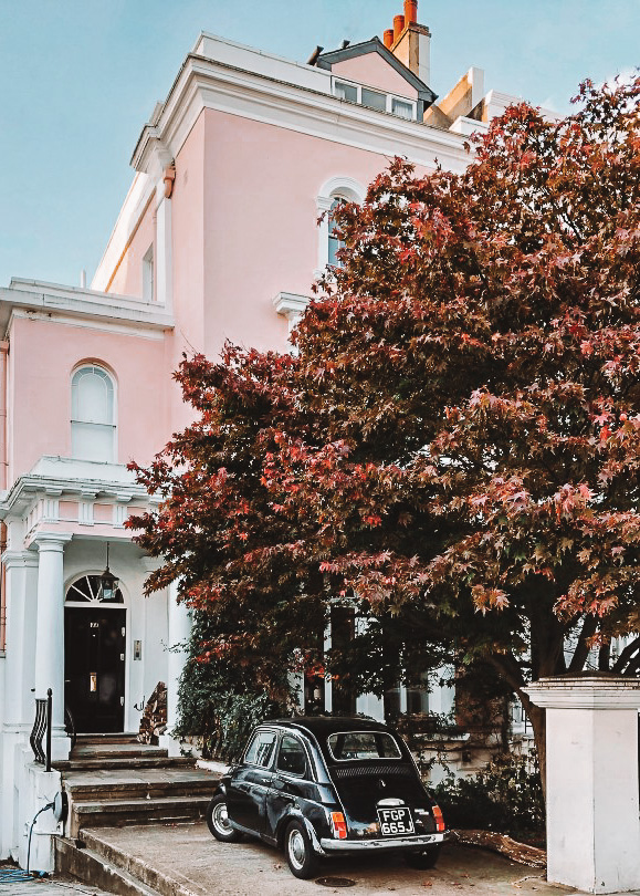 Elgin crescent pink