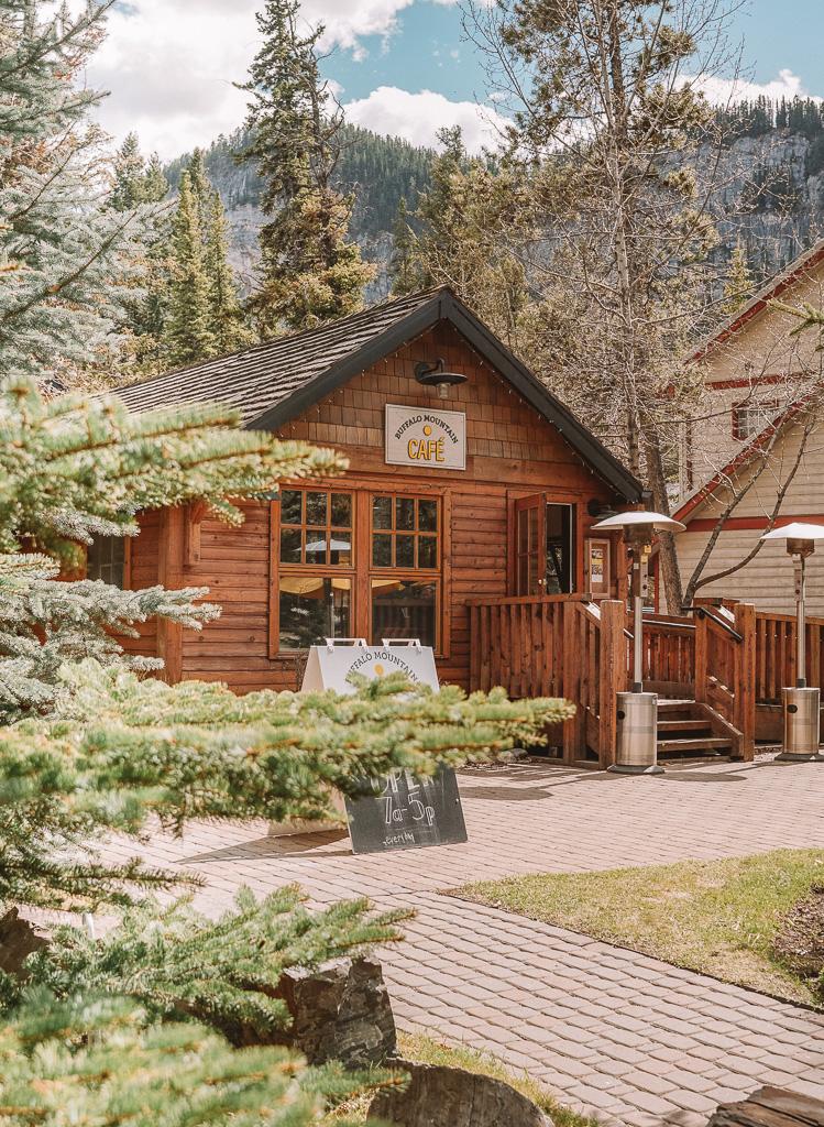 Buffalo Mountain cafe, Banff