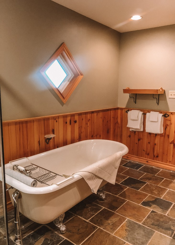 Buffalo Mountain Lodge Premier Room Bathroom