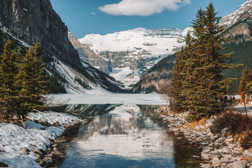 Lake Louise in spring