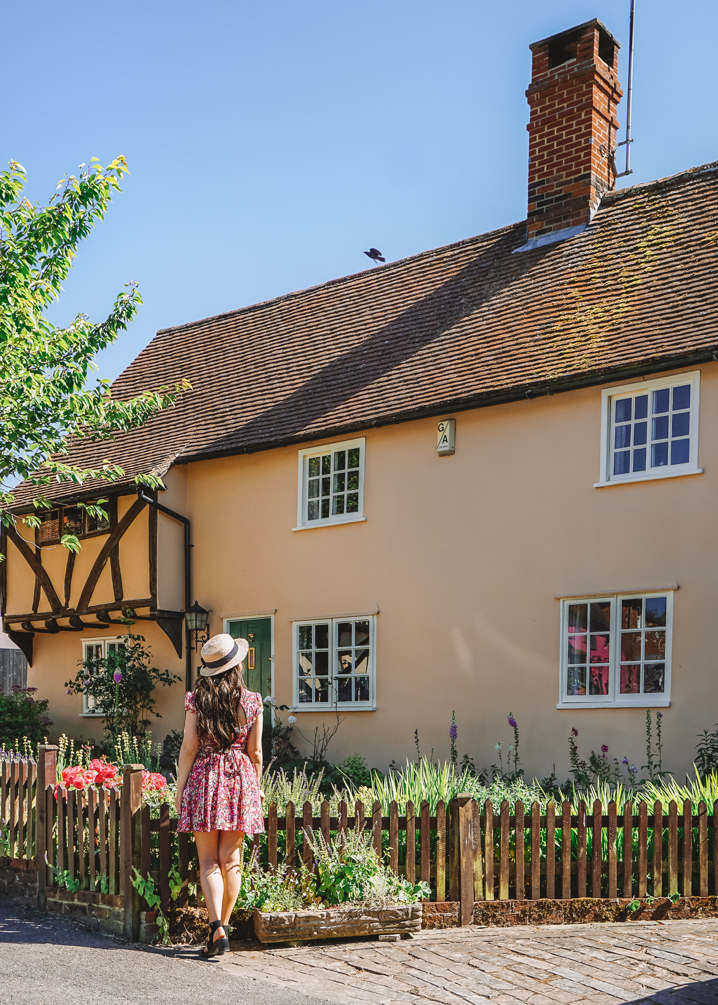Cottages in Braughing, Hertfordshire