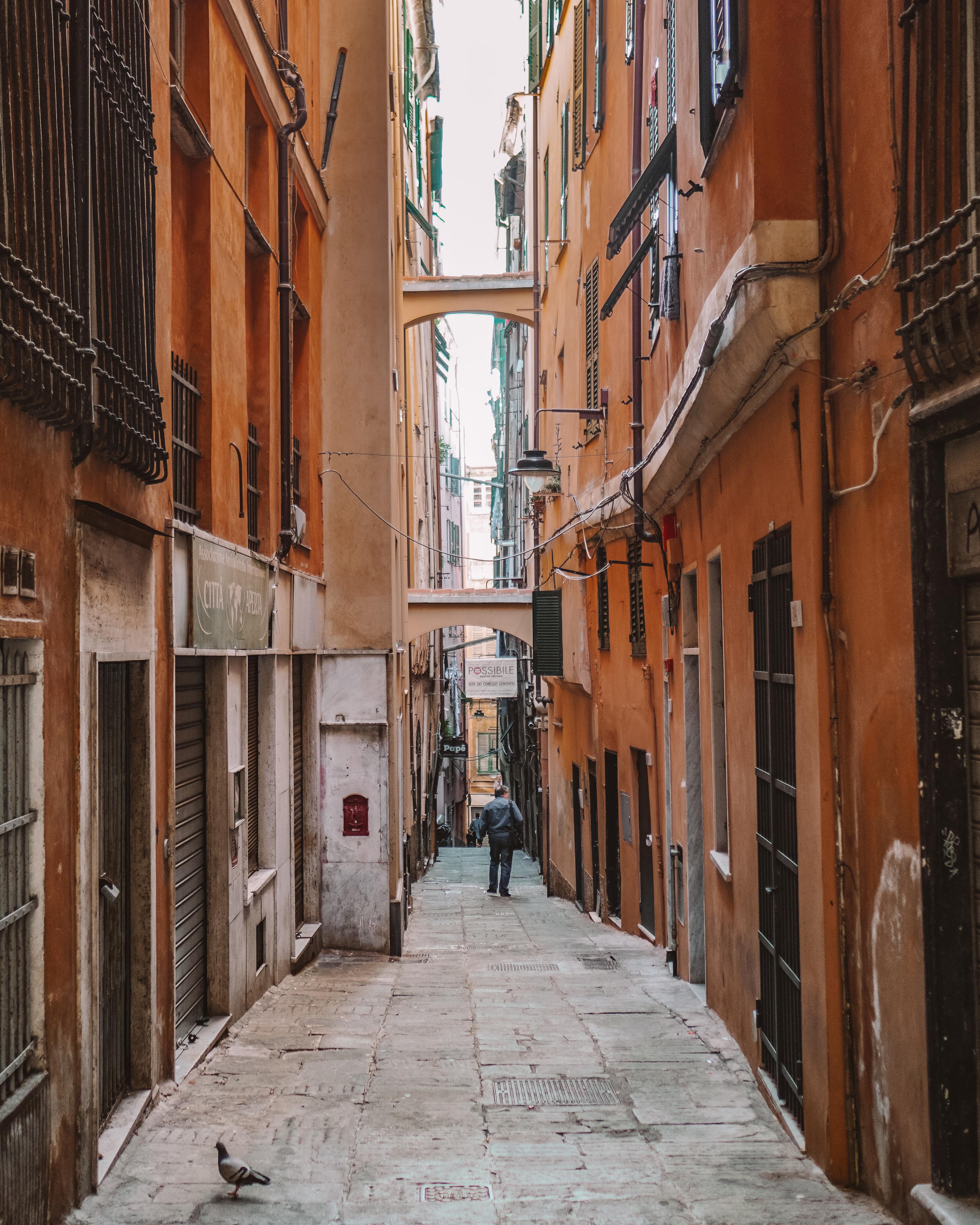 Narrow Streets of Genoa