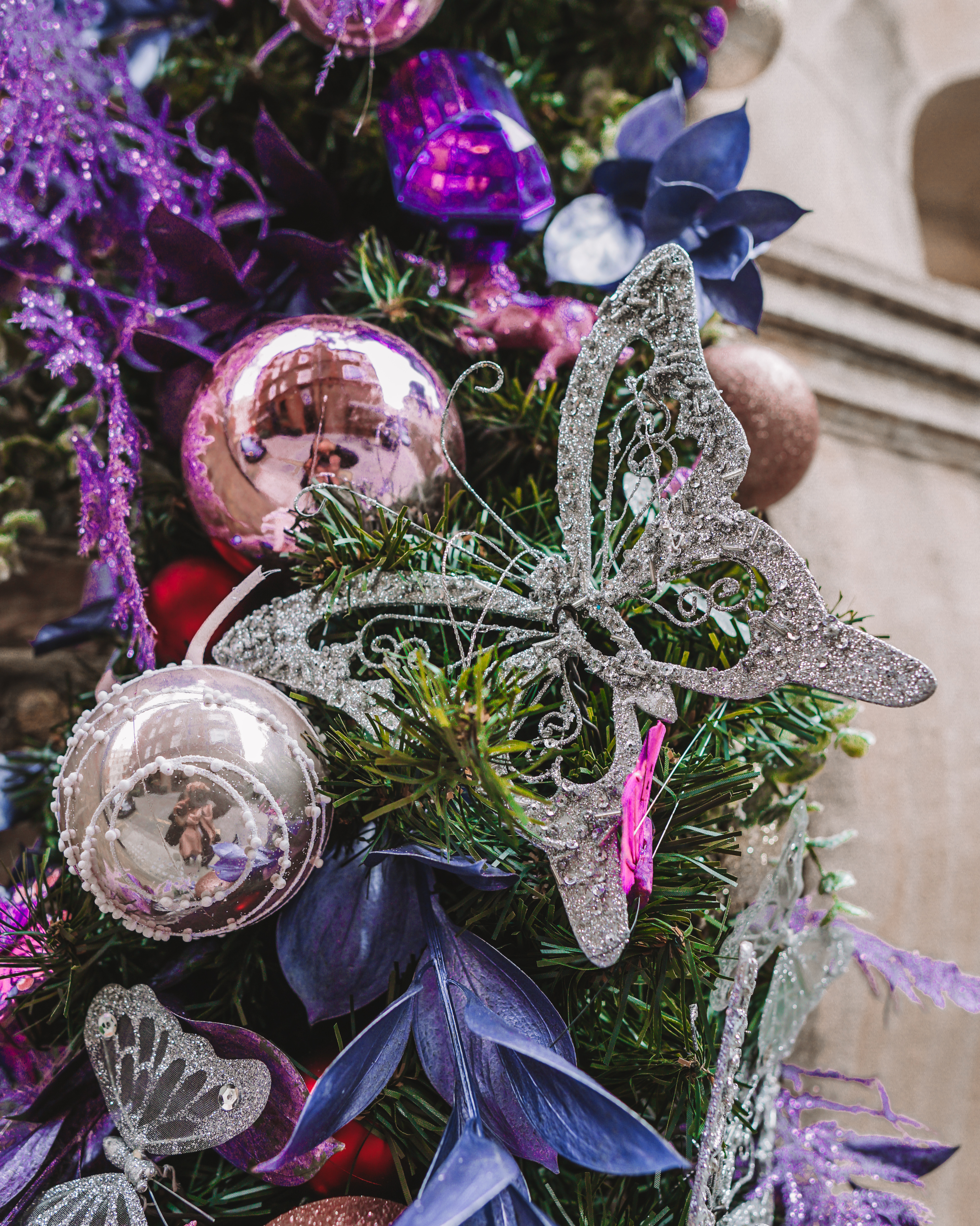 Christmas in London | London's Best Festive Displays | Sophia Webster