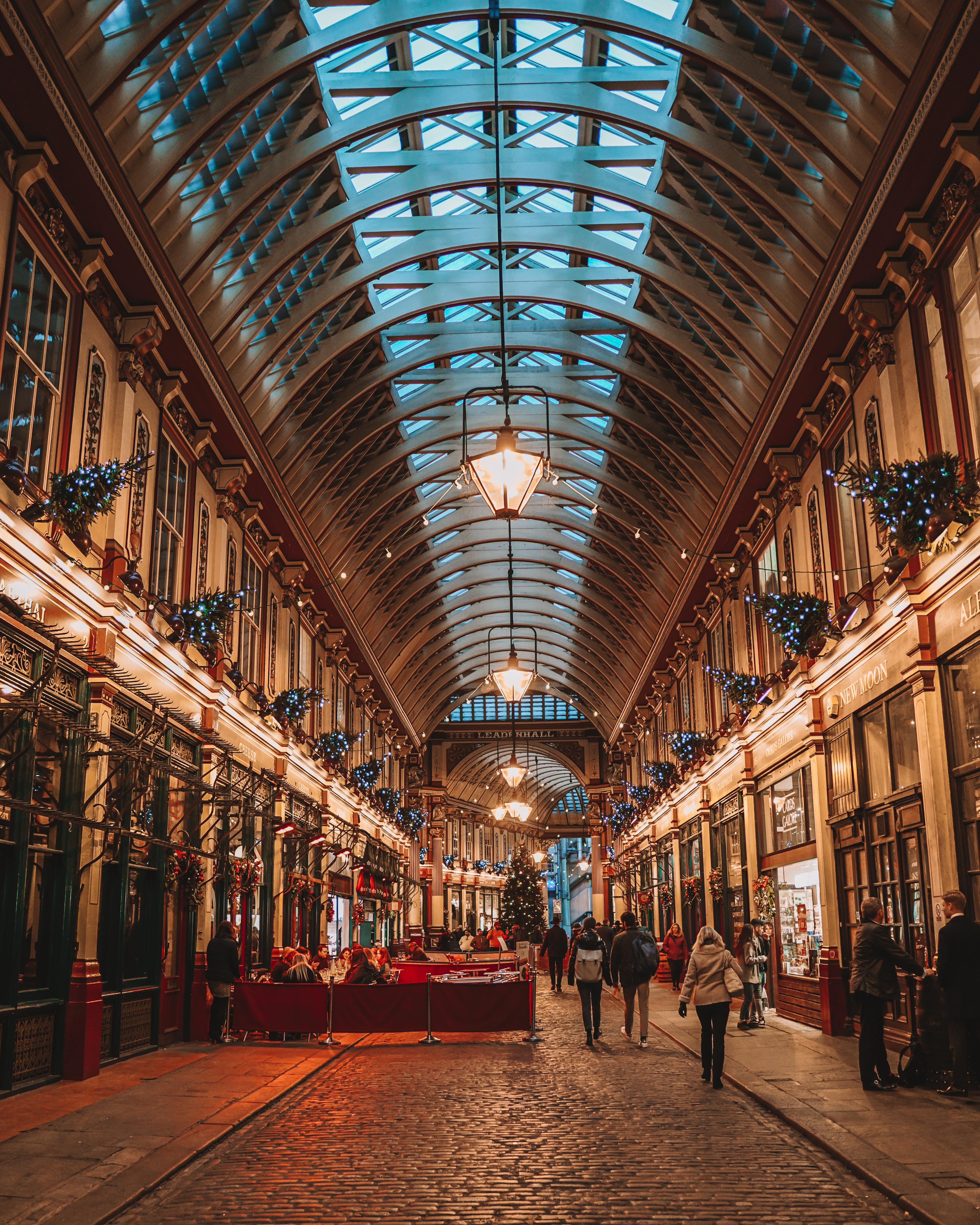 Christmas in London | London's Best Festive Displays | Leadenhall Market