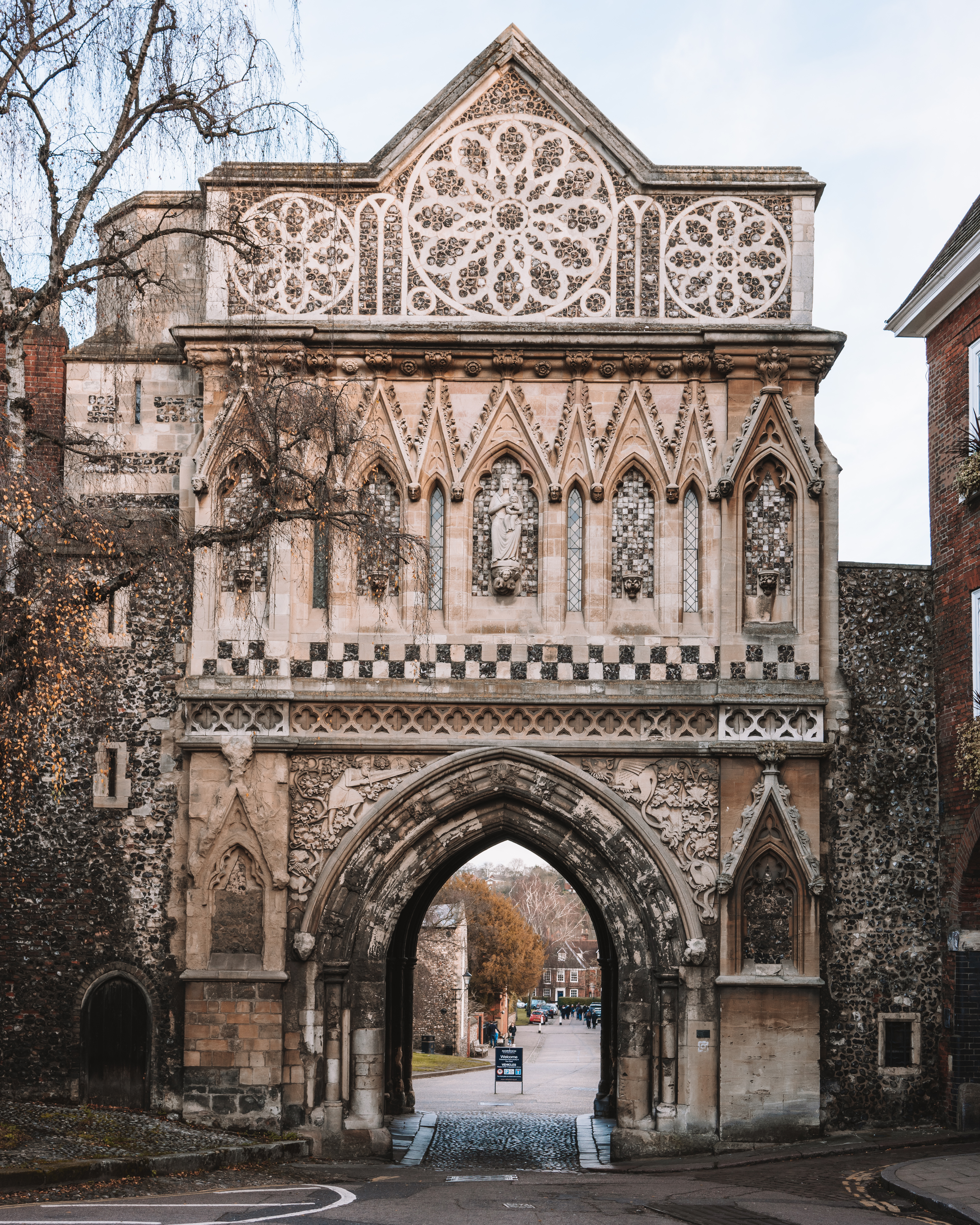 Entrance into Norwich Cathedral | Historic Norwich