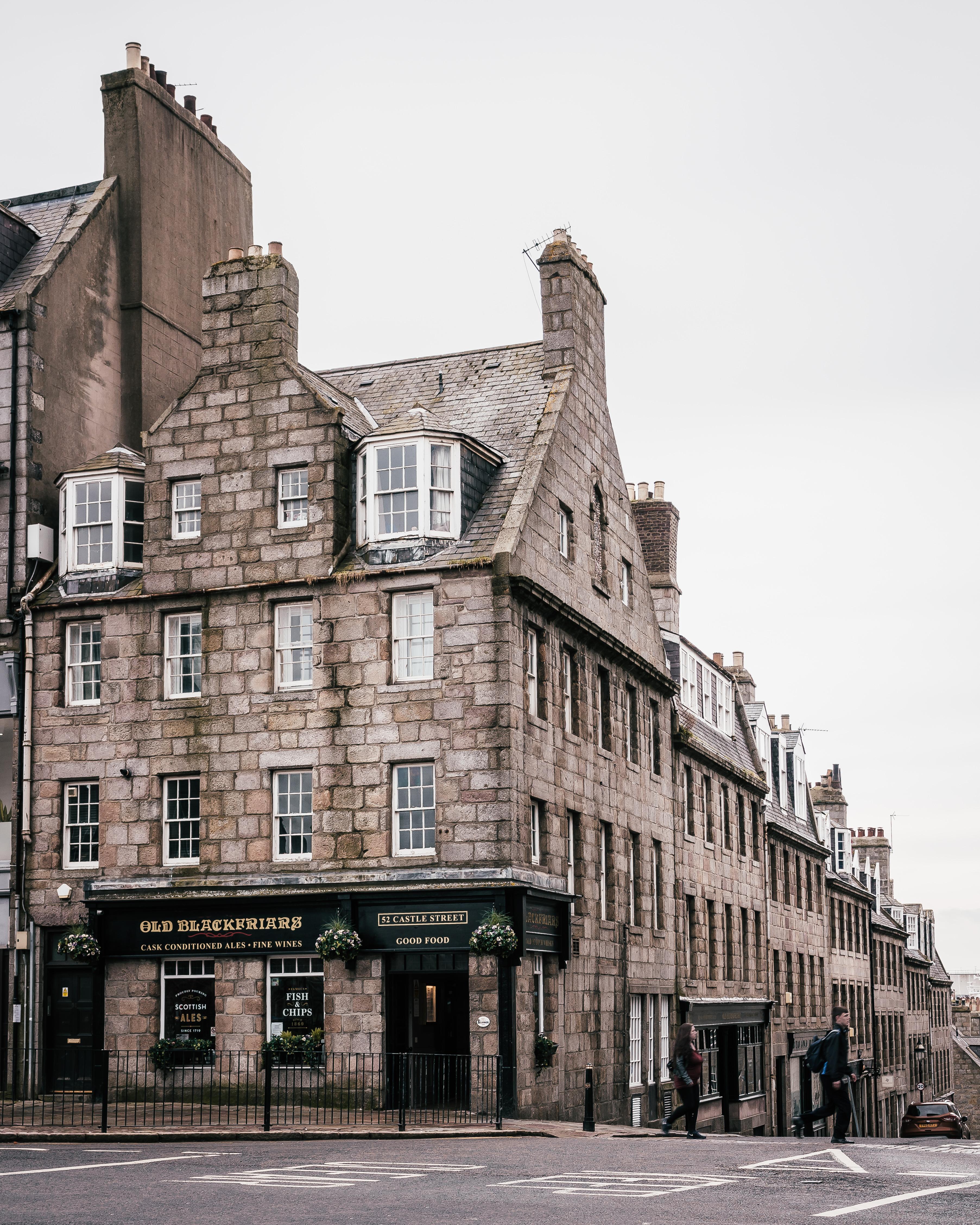 72 hours in Aberdeenshire | Marischal Street, Aberdeen