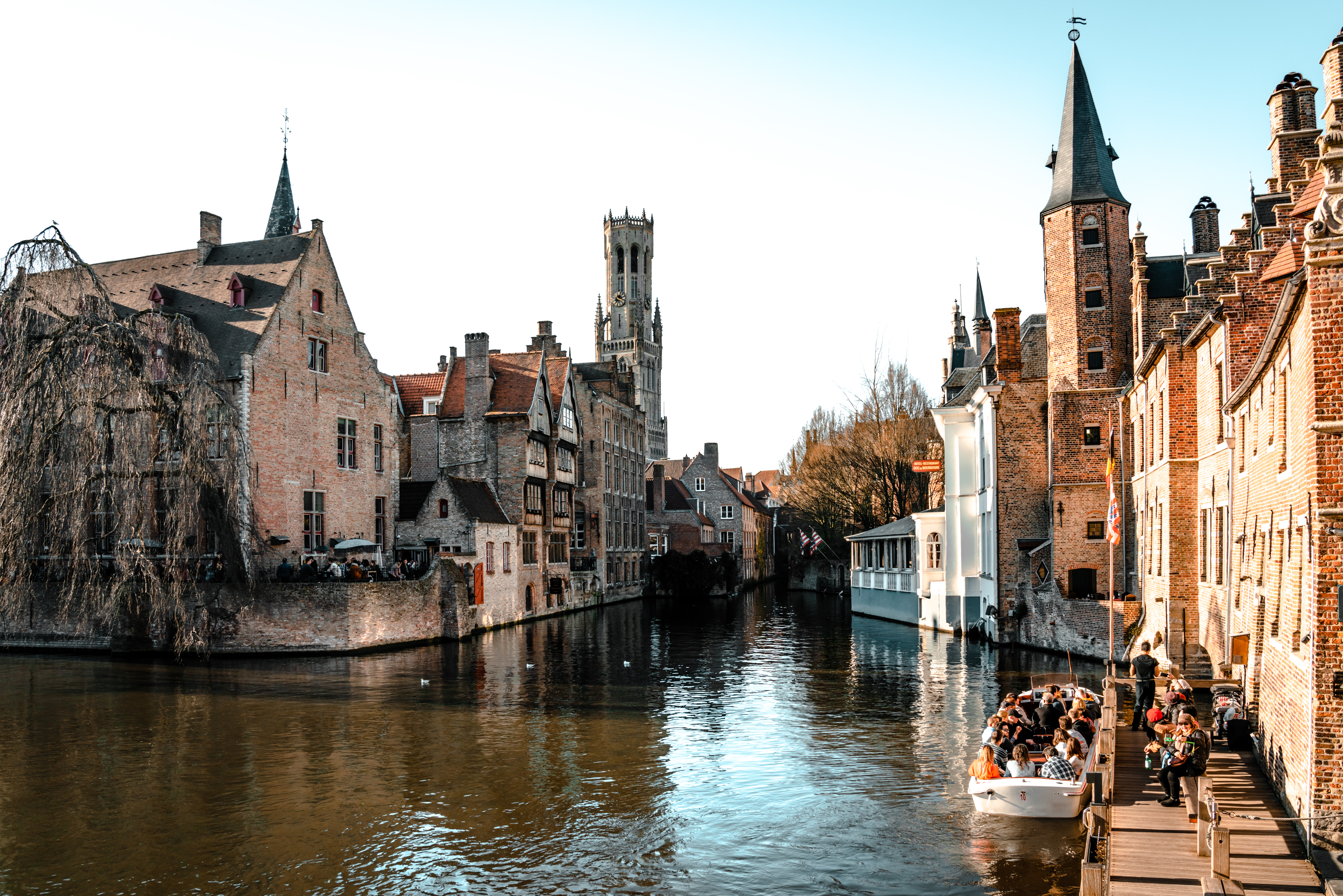 The Most Picturesque Locations in Bruges | Rozenhoedkaai