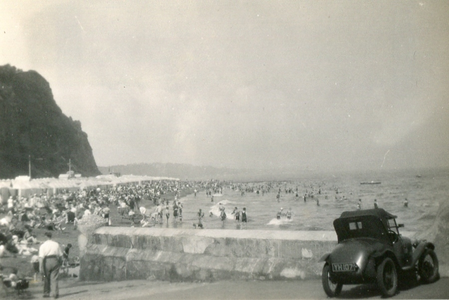 Small Hope Beach, Shanklin Aug 1931