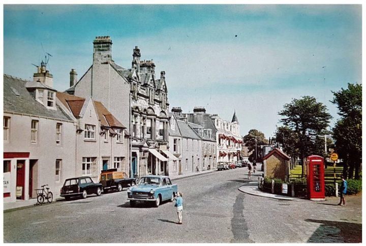 Postcard classic car