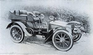 Daimler 1902 Veteran Car