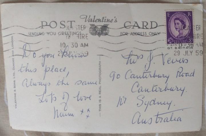 Tadcaster postcard