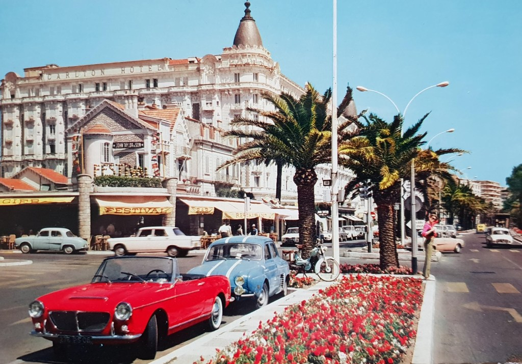 Fiat 1200 Canriolet in Cannes