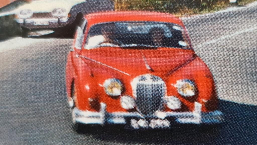 Jaguar Mk 2 in the Alps